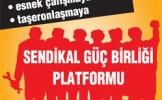 Sendikal Güç Birliği Trakya Mitingi Basın Bildirisi