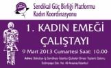 Sendikal Güç Birliği Kadın Emeği Çalıştayı