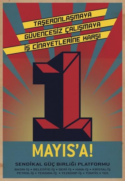 Sendikal Güç Birliği 1 Mayıs Afişi