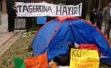 Koç Üniversitesi'nde Taşerona Karşı Direniş