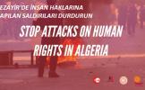 IndustriALL Cezayir'deki sendikalara yönelik saldırılara karşı uluslararası dayanışma kampanyası baş...