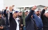 Kristal-İş üyeleri Düzce Cam, Okan Cam ve Çetaş Cam'daki işten çıkarma ve baskıları protesto etti