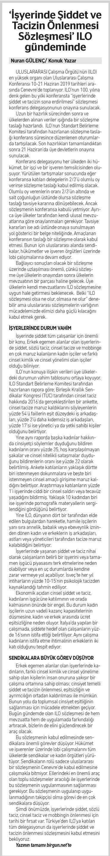 Konuk Yazar Nuran Gülenç BİRGÜN_20190613_13