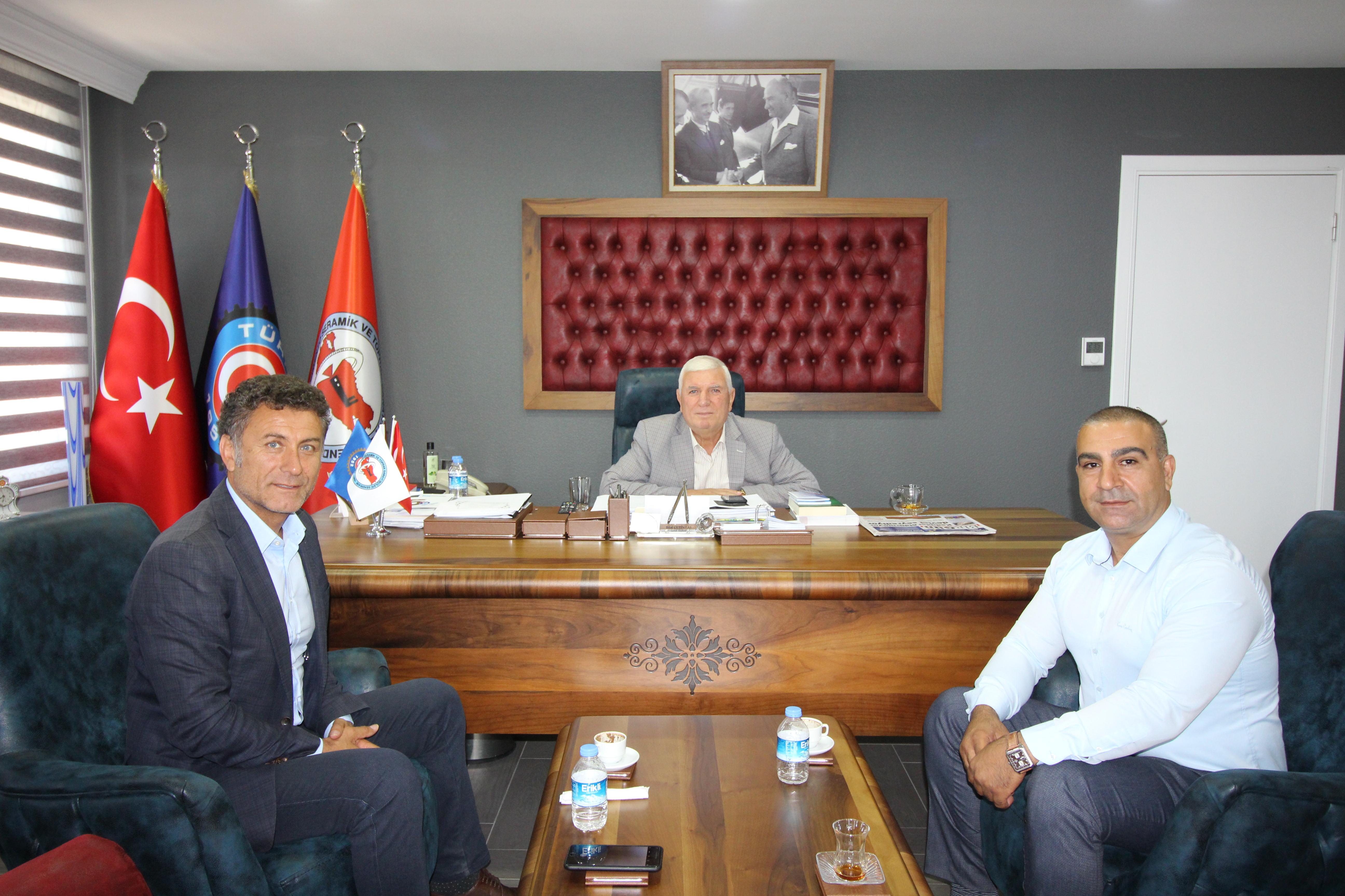 CHP Milletvekili Orhan Sarıbal'dan sendikamıza ziyaret