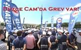 Düzce Cam işçilerinin grevi 14. gününde!