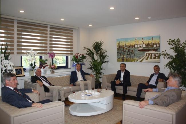 Yeni Yönetim Kurulu Üyelerine Tebrik Ziyareti Gerçekleştirildi
