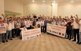 Trakya Şubemizin 12. Olağan Genel Kurulu gerçekleştirildi
