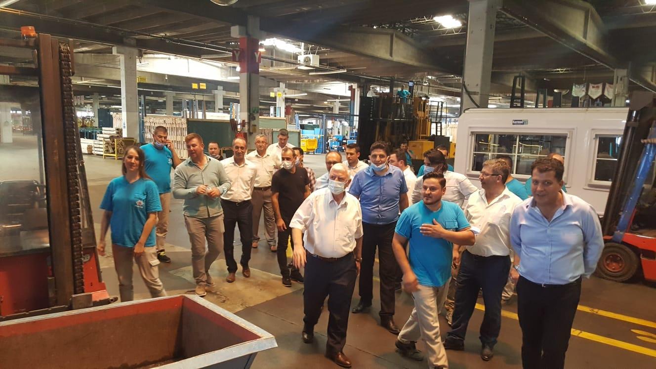 Yönetim Kurulu Üyelerimiz Fabrika Ziyaretlerini Sürdürüyor
