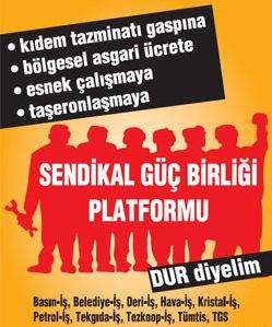 Sendikalardan Türk-İş'e Başkanlar Kurulu Çağrısı