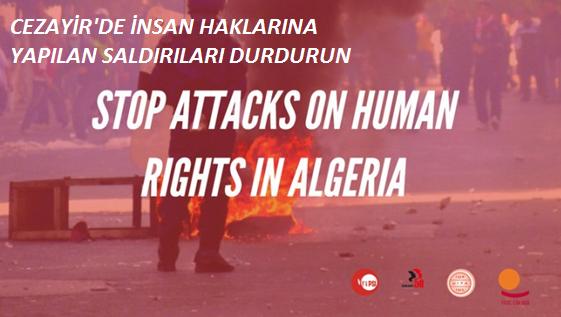 IndustriALL Cezayir'deki sendikalara yönelik saldırılara karşı uluslararası dayanışma kampanyası başlattı