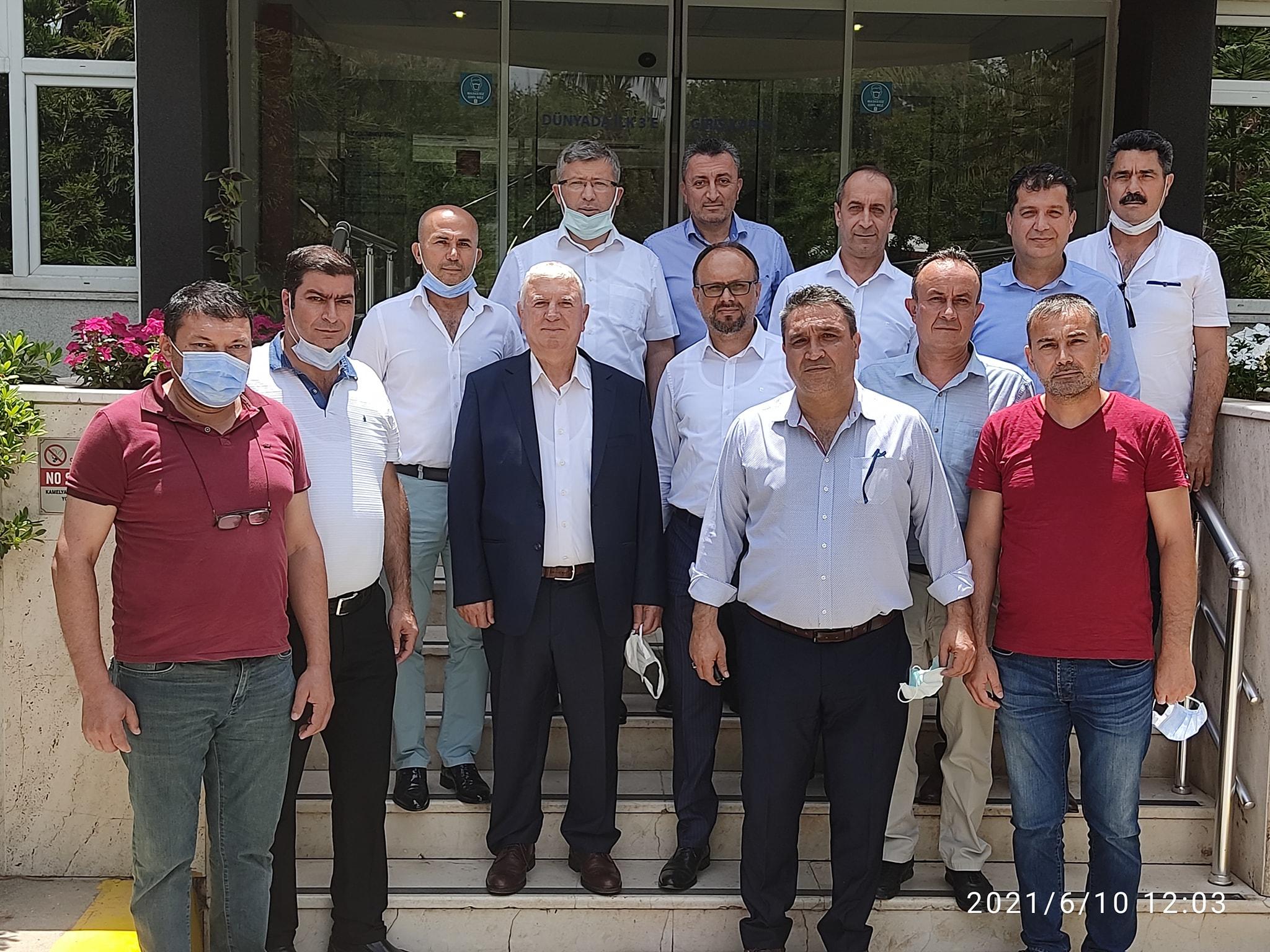 Genel Merkez Yöneticilerimiz Mersin'de